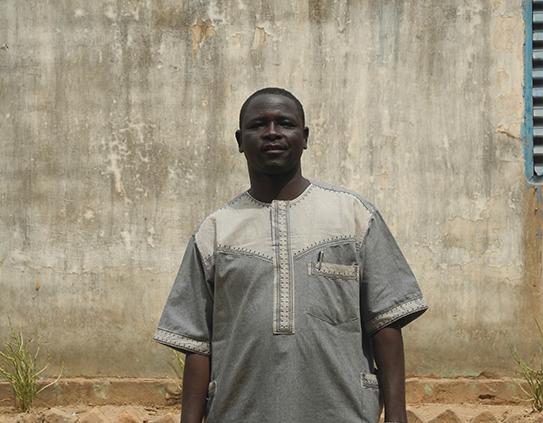 Portrait de Al Hassan Moussa, leader de mouvements de jeunesse à Kélo au Tchad